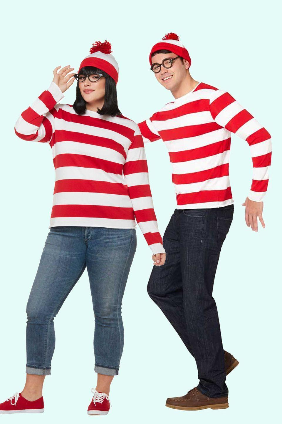 """<p>Recruit two of your friends to dress up as Odlaw and Wizard Whitebeard and you'll have everyone at the party looking for you (including your S.O.)<br></p><p><a class=""""link rapid-noclick-resp"""" href=""""https://www.amazon.com/Rubies-Costume-Co-Unisex-Adults-Standard/dp/B079GJ37Q5/?tag=syn-yahoo-20&ascsubtag=%5Bartid%7C10055.g.2625%5Bsrc%7Cyahoo-us"""" rel=""""nofollow noopener"""" target=""""_blank"""" data-ylk=""""slk:SHOP WANDA AND WALDO COSTUMES"""">SHOP WANDA AND WALDO COSTUMES</a> </p>"""