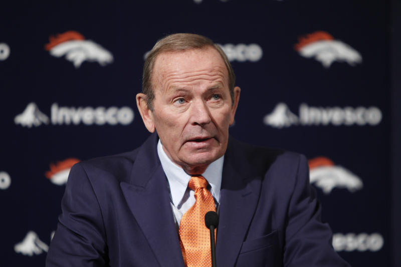 Broncos owner Pat Bowlen, shown in 2011, was named a contributor finalist by the Pro Football Hall of Fame. (AP)