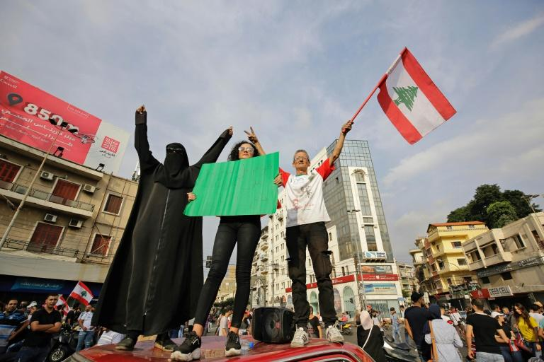 Protests also rocked the northern city of Tripoli (AFP Photo/Ibrahim CHALHOUB)