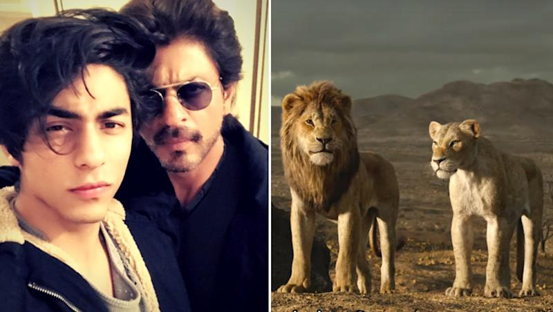 Shah Rukh Khan Asks Fans If Aryan's Voice Sounds Similar to His in The Lion King Teaser and Fans Say 'Hell Yeah'