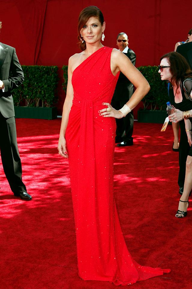 BEST:  Debra Messing at the 61st Primetime Emmy Awards held at the Nokia Theatre on September 20, 2009, in Los Angeles.