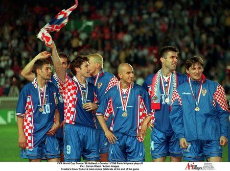 FIFA World Cup- Third  Fourth Place Play Off- Holland v Croatia- Parc des Princes Paris- 11/7/98
