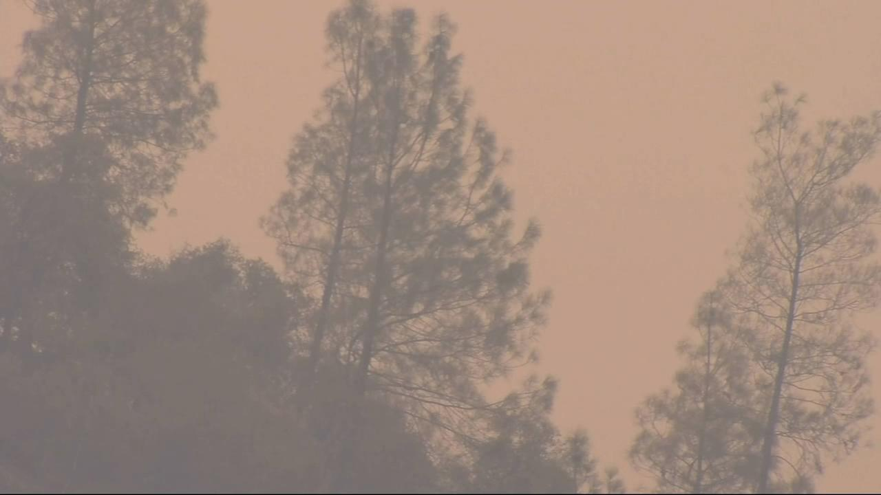 The fire has burned 13,082 acres and at this point is only 5% contained.