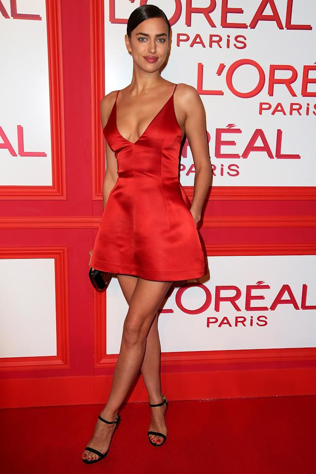 Red dior mini dress