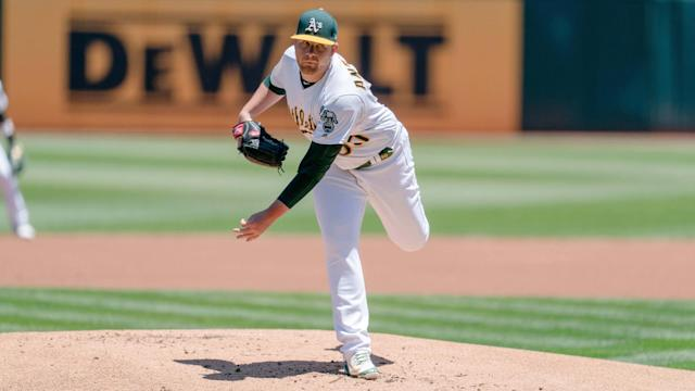 Brett Anderson and the A's are ready to break out the brooms.
