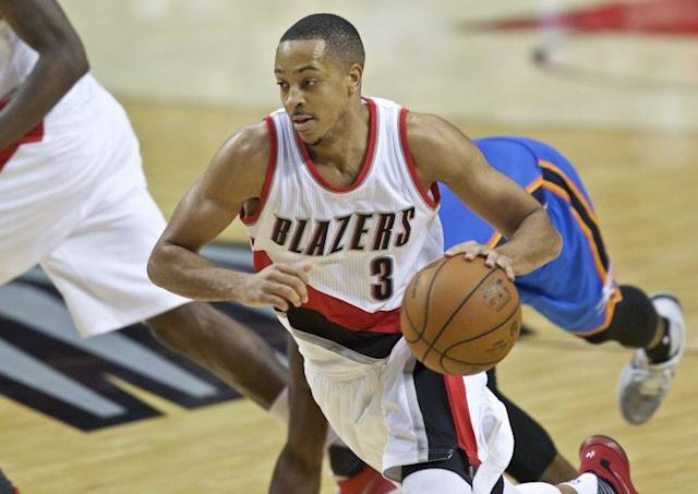 "<a class=""link rapid-noclick-resp"" href=""/nba/players/5161/"" data-ylk=""slk:C.J. McCollum"">C.J. McCollum</a> averaged 20.8 points per game last season. (AP)"