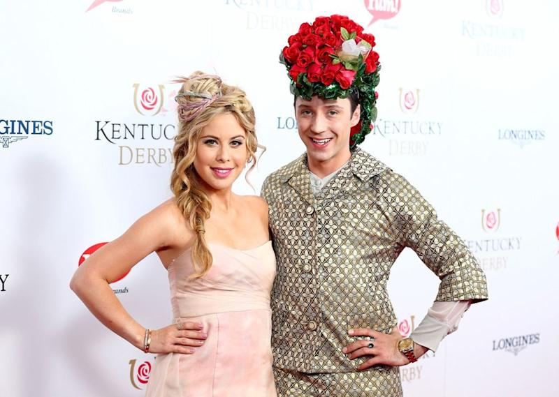 Lipinski and Weir at the Kentucky Derby in 2015