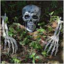 <p>You can't go wrong with these good ole <span>JOYIN Realistic Looking Skeleton Stakes</span> ($17).</p>