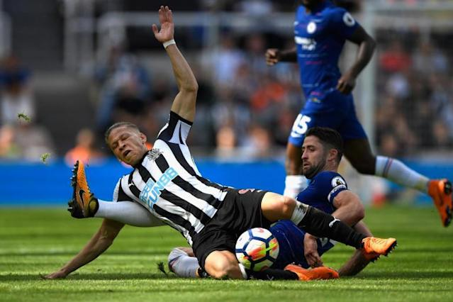 Gary Cahill suggests Chelsea players had 'one eye' on FA Cup final during loss to Newcastle at St. James' Park