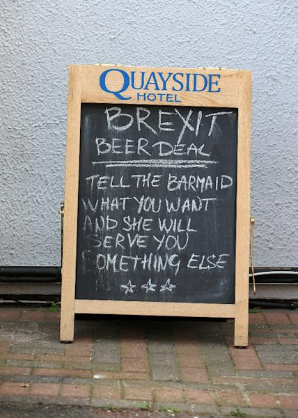 Many local people are angry at the failure to deliver Brexit (AFP Photo/Lindsey Parnaby)