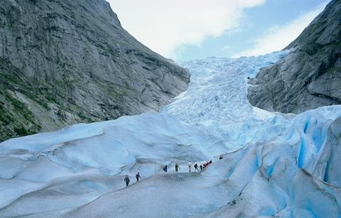 Briksdal Glacier - Credit: Getty