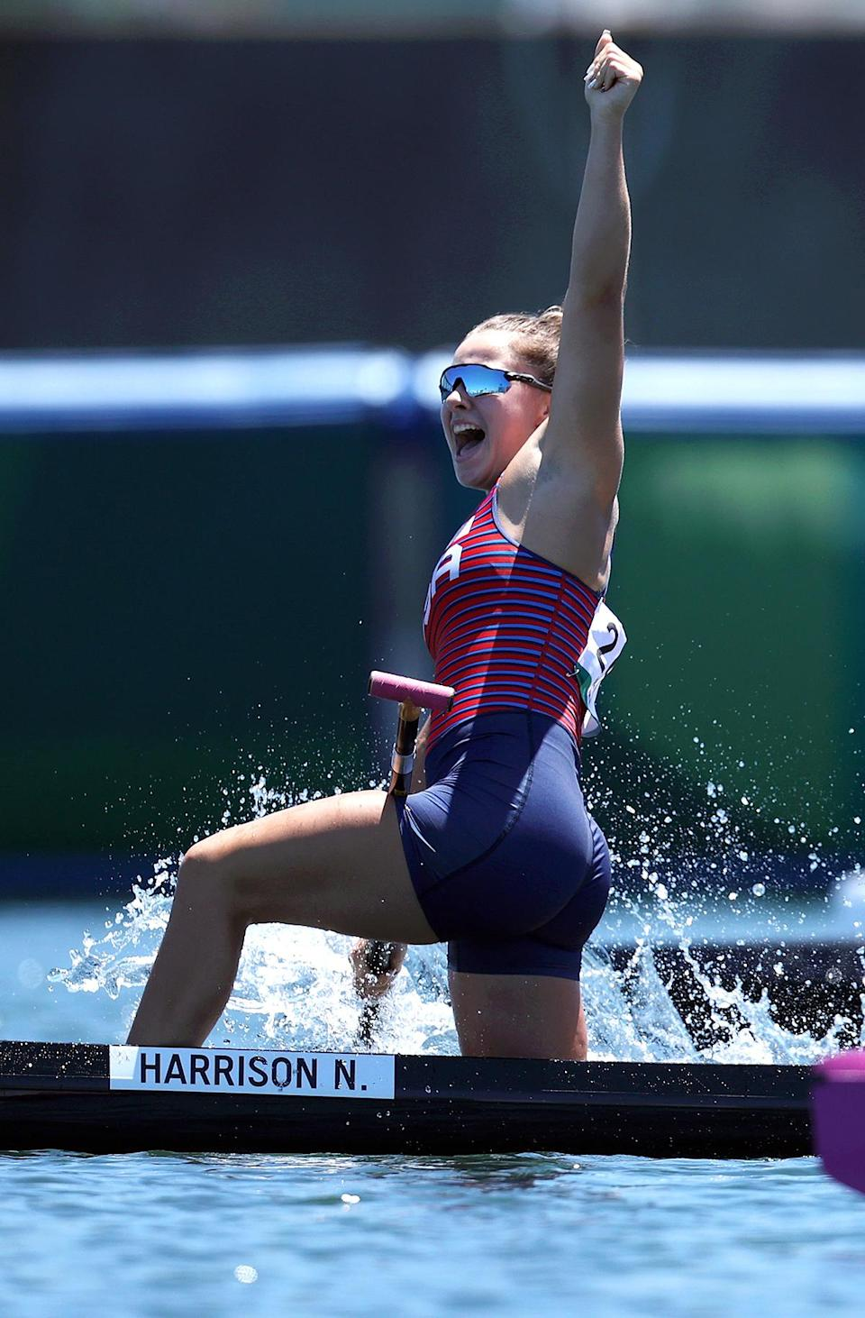 """<p>Biography: 19 years old</p> <p>Event: Women's canoe single 200m race</p> <p>Quote: """"I'm hoping this can really help put [my sport] on the map and get girls like me involved, and boys. Because it's a cool sport. It's fun, it's competitive and it would be awesome to kind of get the U.S. up to the same level as a lot of countries that we're competing against.""""</p>"""
