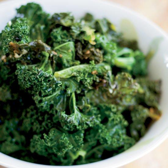 """<p>This easy kale recipe—a simple braise of olive oil, garlic and chicken stock—is a terrific counterpoint to all of the rich Southern-style dishes at chef John Besh's table.</p><p><a href=""""https://www.foodandwine.com/recipes/braised-kale"""">GO TO RECIPE</a></p>"""