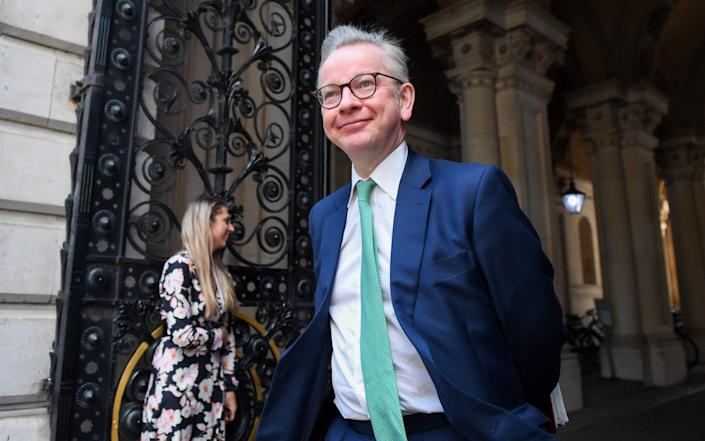 Michael Gove is in Scotland today - Bloomberg