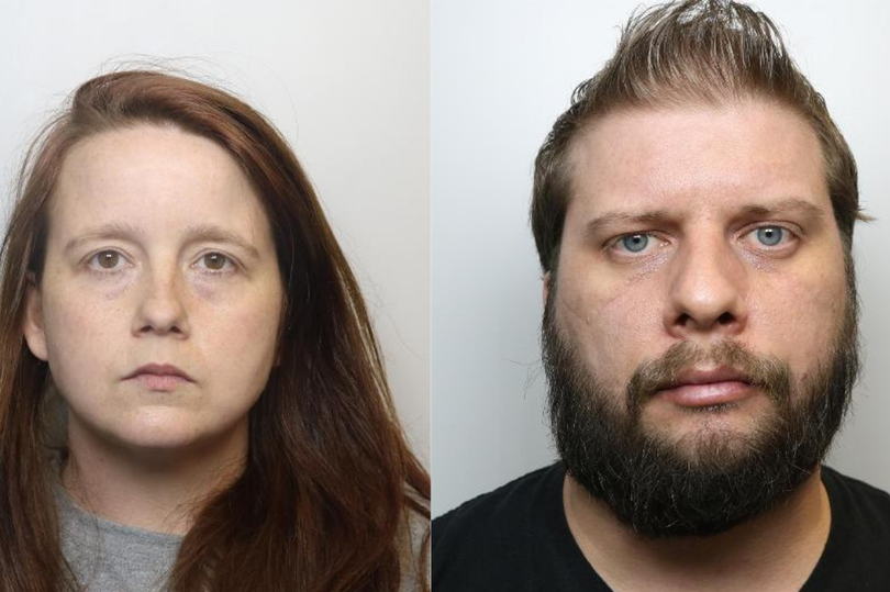 Robert Stanley, 36, and his girlfriend Danielle Schofield, 34, have been jailed. (NCA)