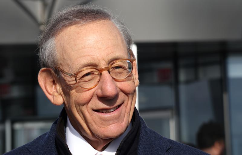 Dolphins owner Stephen M. Ross gave $13 million to his nonprofit foundation to fight racism. (Photo by Gary Hershorn/Getty Images)