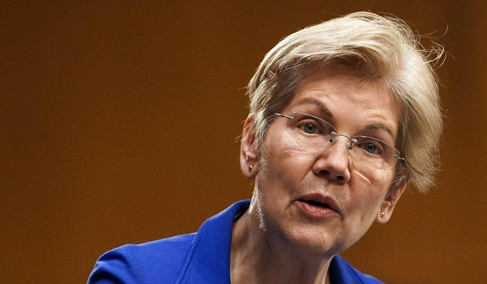 Senator Elizabeth Warren, Democrat of Massachusetts, questioned whether the TPP would have been a good deal for American workers. Photo: EPA-EFE