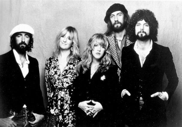 PHOTO: Left to right, John McVie, Christine McVie, Stevie Nicks, Mick Fleetwood, and Lindsey Buckingham of the rock group 'Fleetwood Mac' pose for a portrait in 1975. (Michael Ochs Archives/Getty Images)