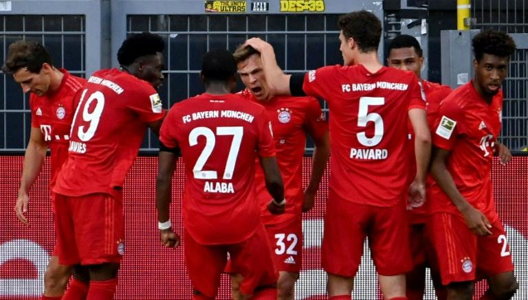 Bayern look dead certs to win their eighth title in a row after winning at Dortmund