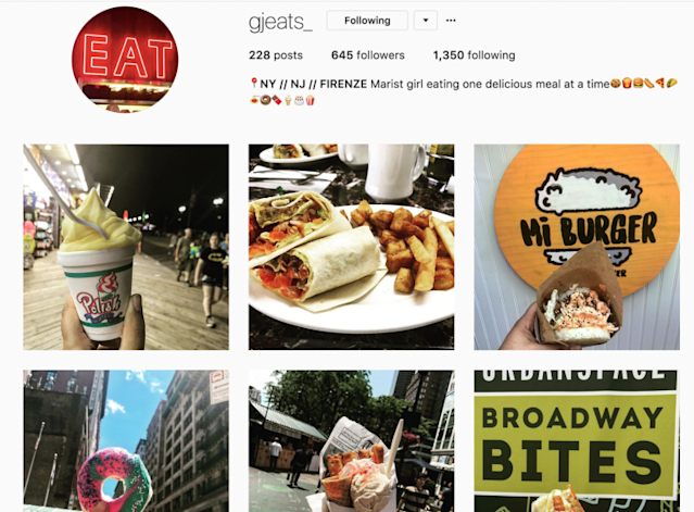 "Jadelis's Instagram account dedicated to her culinary adventures: <a href=""https://www.instagram.com/gjeats_/"" rel=""nofollow noopener"" target=""_blank"" data-ylk=""slk:@gjeats_"" class=""link rapid-noclick-resp"">@gjeats_</a>"