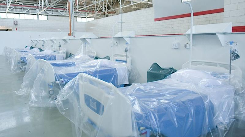 The Rev Dr Elizabeth Mamisa Chabula-Nxiweni Field Hospital was built in collaboration with the German development agency and carmaker Volkswagen (VW), the largest German investment in South Africa.