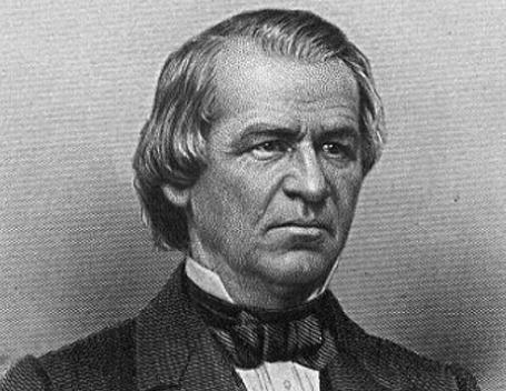 Andrew Johnson gave a hungover speech on inaugural day.