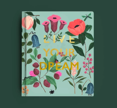 """<a href=""""https://fave.co/2Qe3WP5"""" rel=""""nofollow noopener"""" target=""""_blank"""" data-ylk=""""slk:BUY HERE"""" class=""""link rapid-noclick-resp"""">BUY HERE</a> This planner is carefully designed to help you take small steps each day to reach your goals and dreams and live a life filled with magic, creativity, and happiness."""