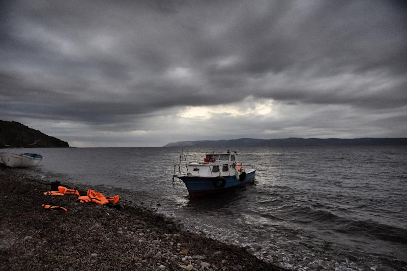 A controversial EU-Turkey migration deal has seen a dramatic fall in new arrivals to Greece (AFP Photo/Aris Messinis)
