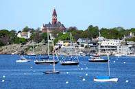 """<p><strong>45 minutes from Boston</strong></p> <p>This waterfront enclave on Cape Ann is home to beaches, hiking trails, and historic properties. More than 300 of Marblehead's homes date to the 17th and 18th centuries, and you can see them by parking at Bank Square and exploring the town on foot. Tour the <a href=""""https://marbleheadmuseum.org/properties/lee-mansion/"""" rel=""""nofollow noopener"""" target=""""_blank"""" data-ylk=""""slk:Jeremiah Lee Mansion & Garden"""" class=""""link rapid-noclick-resp"""">Jeremiah Lee Mansion & Garden</a>, a Georgian-style home built in 1768, and then head over to the <a href=""""https://www.littleharborlobster.com/"""" rel=""""nofollow noopener"""" target=""""_blank"""" data-ylk=""""slk:Little Harbor Lobster Company"""" class=""""link rapid-noclick-resp"""">Little Harbor Lobster Company</a>—a century-old restaurant known for its local seafood that has shifted during COVID-19 to a curbside delivery and takeout model. Marblehead's best accommodations can be found at <a href=""""https://cna.st/affiliate-link/WHvUKwsURK2Vm8hnqtb3MnA61BEzaM3JwN5vXrsebs3zZSCjowtrHf9bbTsuuXhZ3QZNuUFFyGW9VAJm579dUnbTHAEmTvetqAUyMUHruyFVD9VTW8xShqQSc9W1KtS4gAH9iKmePENWw35iGQJEDj?cid=60a6aa229829a1042aa76466"""" rel=""""nofollow noopener"""" target=""""_blank"""" data-ylk=""""slk:The Harbor Light Inn"""" class=""""link rapid-noclick-resp"""">The Harbor Light Inn</a> (<em>rooms from $199 per night</em>), which, in addition to its 20 rooms, offers five full apartments and in-season swimming pool.</p>"""