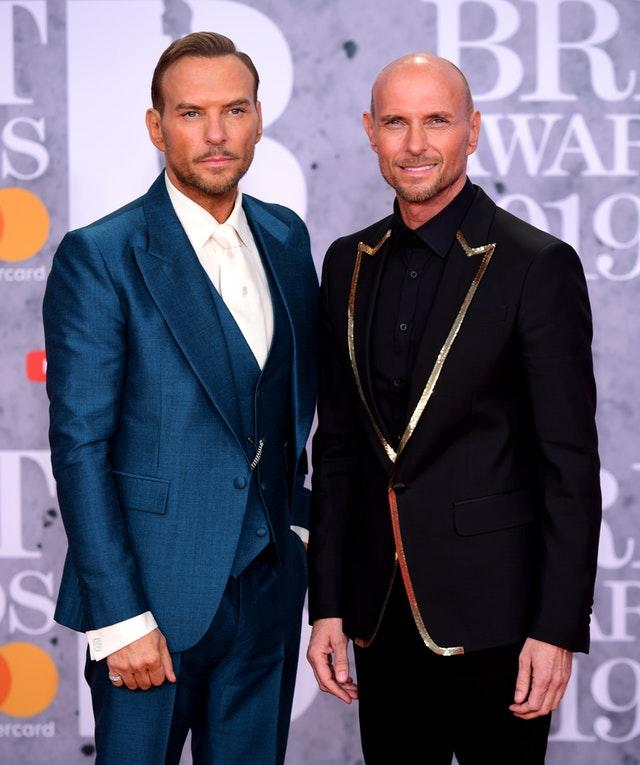 Matt Goss (left) and Luke Goss