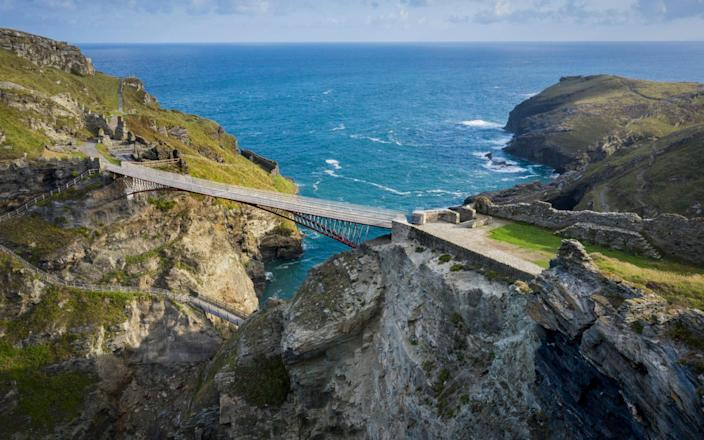 For people who have braved the stairs at Tintagel Castle, we have good news... - David Levene