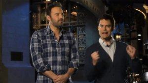 'Saturday Night Live' Finale: Ben Affleck, Bill Hader Riff on 'Argo' in Promos (Video)