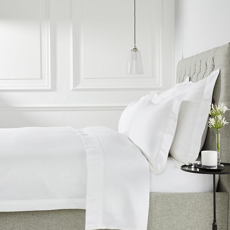 """<a rel=""""nofollow noopener"""" href=""""https://rstyle.me/n/c7ermtchdw"""" target=""""_blank"""" data-ylk=""""slk:Cavendish Bed Linen Collection, The White Company, $79""""Prepare for the fall months and make your bedroom (my favorite room) a place of retreat, rest and relaxation with lots of white, particularly a warm white by layering up beds, chairs or sofas with soft throws and textured cushions. Always make sure to invest in your bed linen. Once you've slept in luxuriously crisp, pure cotton you can't go back to anything else."""""""" class=""""link rapid-noclick-resp"""">Cavendish Bed Linen Collection, The White Company, $79<p>""""Prepare for the fall months and make your bedroom (my favorite room) a place of retreat, rest and relaxation with lots of white, particularly a warm white by layering up beds, chairs or sofas with soft throws and textured cushions. Always make sure to invest in your bed linen. Once you've slept in luxuriously crisp, pure cotton you can't go back to anything else.""""</p> </a>"""
