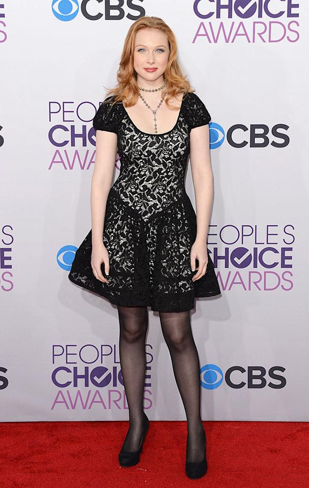 Molly C. Quinn attends the 39th Annual People's Choice Awards at Nokia Theatre L.A. Live on January 9, 2013 in Los Angeles, California.