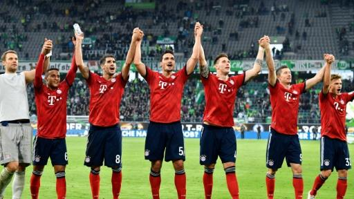 German Bundesliga Report: Wolfsburg v Bayern Munich 20 October 2018