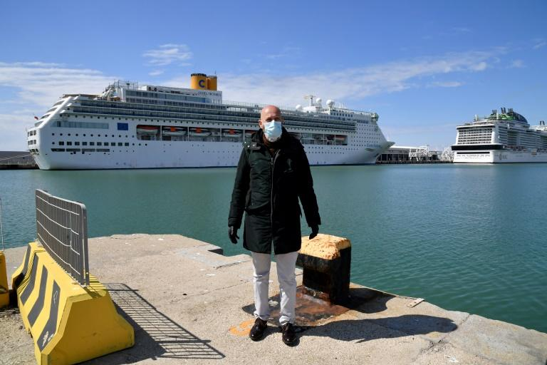 Civitavecchia mayor Ernesto Tedesco wants anyone infected with the virus to kept on board the cruise ship in quarantine