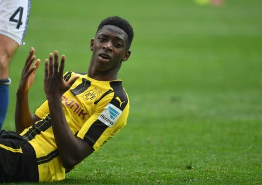 Dortmund maintain Dembele suspension after missed training
