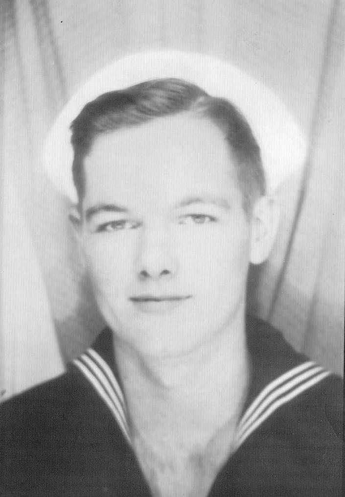 Navy Fireman 2nd Class Carl M. Bradley, 19, of Shelley, Idaho, was on board the battleship USS Oklahoma at Pearl Harbor, on Dec. 7, 1941, when his ship was attacked by Japanese aircraft.