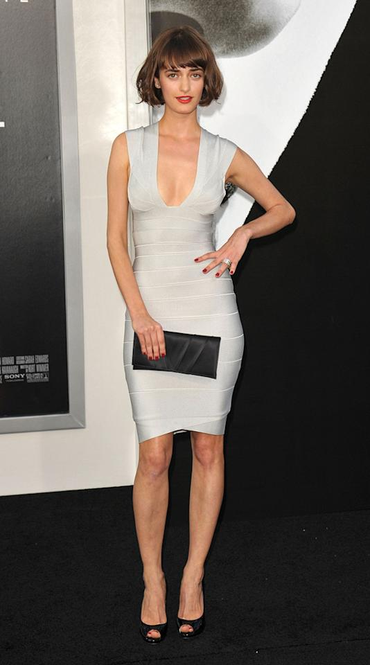 "<a href=""http://movies.yahoo.com/movie/contributor/1810166032"">Olya Zueva</a> at the Los Angeles premiere of <a href=""http://movies.yahoo.com/movie/1810072508/info"">Salt</a> - 07/19/2010"