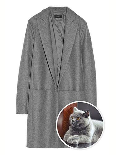 """<div class=""""caption-credit""""> Photo by: net-a-porter</div><b>British Blue Cat</b> <br> As soft and luxurious as a British Blue cat may be to cuddle on cold nights, wrapping ourselves in Theory's plush wool coat seems to be the next best thing. Theory Elizabeth Wool-Blend Felt Coat, £620; <a href=""""http://www.net-a-porter.com/product/380311"""" rel=""""nofollow noopener"""" target=""""_blank"""" data-ylk=""""slk:net-a-porter.com"""" class=""""link rapid-noclick-resp"""">net-a-porter.com</a>. <p> <b><a href=""""http://www.marieclaire.com/hair-beauty/trends/best-celebrity-hairstyles-all-time?link=rel&dom=yah_life&src=syn&con=blog_marieclaire&mag=mar"""" rel=""""nofollow noopener"""" target=""""_blank"""" data-ylk=""""slk:Related: Best Celebrity Hairstyles of All Time"""" class=""""link rapid-noclick-resp"""">Related: Best Celebrity Hairstyles of All Time</a> <br> <a href=""""http://www.marieclaire.com/sex-love/relationship-issues/cheap-date-ideas?link=rel&dom=yah_life&src=syn&con=blog_marieclaire&mag=mar"""" rel=""""nofollow noopener"""" target=""""_blank"""" data-ylk=""""slk:Related: 50 Cheap Date Ideas"""" class=""""link rapid-noclick-resp"""">Related: 50 Cheap Date Ideas</a></b> </p>"""