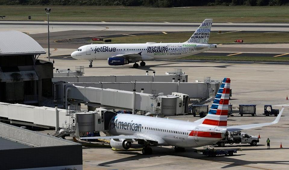 American Airlines-JetBlue-Antitrust (Copyright 2016 The Associated Press. All rights reserved.)
