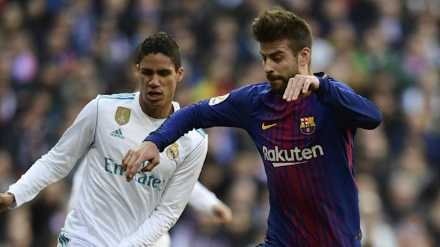 The Camp Nou club are 15 points clear of their Clasico rivals in La Liga, a fact that their veteran defender rarely fails to remind the Blancos of