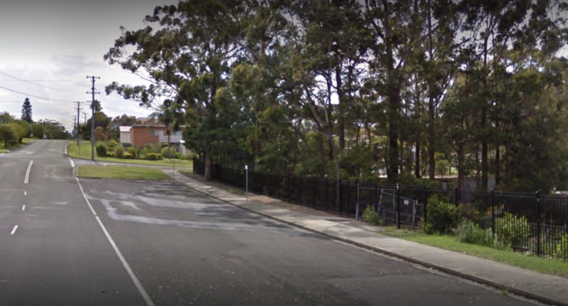 A Google Maps image of South Street, Ulladulla, where Zoie Bell died.