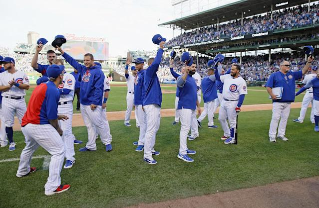 Can the Cubs bring another party to Wrigleyville this year? (Getty Images)
