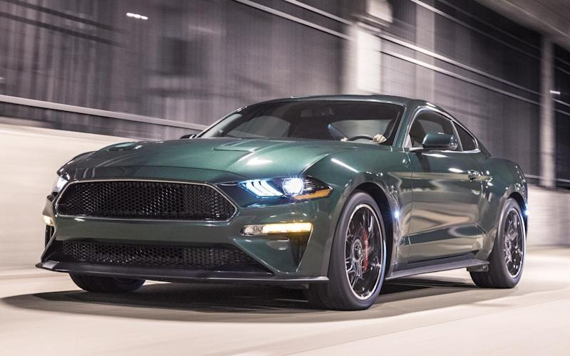 The Ford Mustang Bullitt unveiled at Detroit is a special edition celebrating the 50th anniversary of the famed Steve McQueen film of the same name