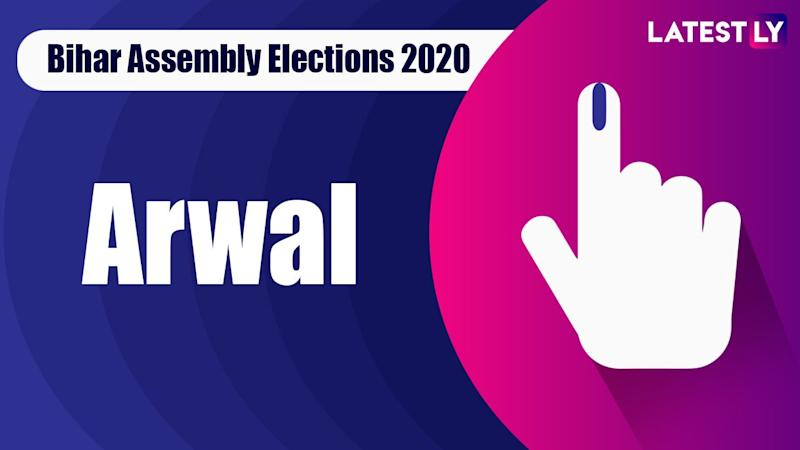 Arwal Vidhan Sabha Seat in Bihar Assembly Elections 2020: Candidates, MLA, Schedule And Result Date