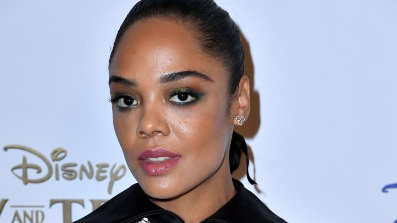 Tessa Thompson Wore Ribbons In Her Ponytail and I'm Dying to Try It Myself