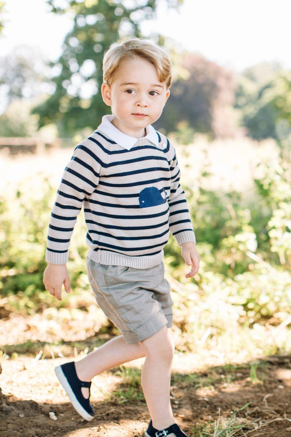 <p>Ahead of his third birthday, the royal family releases photos of the young prince taken at their home in Norfolk.</p>