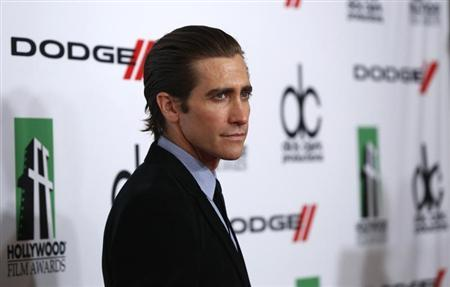 Gyllenhaal poses at the 17th Annual Hollywood Film Awards Gala at the Beverly Hilton Hotel in Beverly Hills