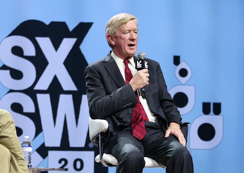 Bill Weld speaks onstage at Conversations About America's Future at the Moody Theater in Austin, Texas. | Hutton Supancic—Getty Images for SXSW